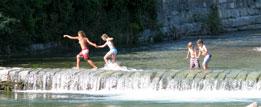 Watervallen Domaso